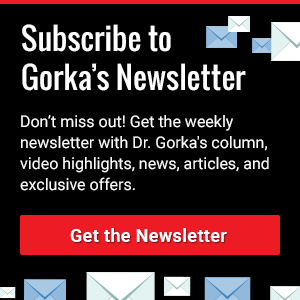Subscribe to Gorka's Newsletter