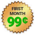 First Month only 99 cents